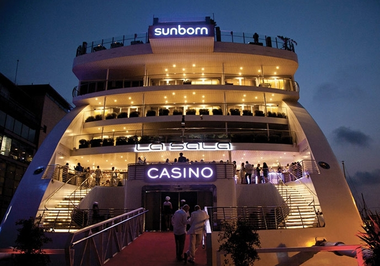 The Sunborn Superyacht Casino