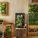 vertical garden wall art